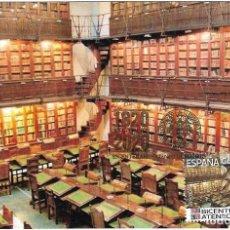 Sellos: ESPAÑA. TARJETA MAXIMA PRIMER DIA. BIBLIOTECA DEL ATENEO DE MADRID. 2021. Lote 262615070