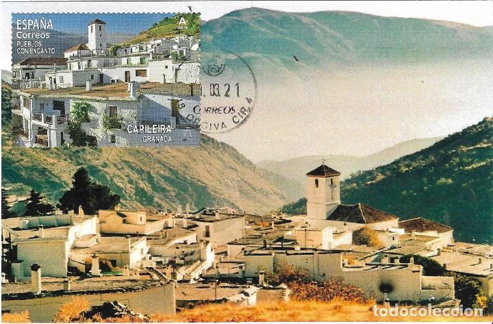 ESPAÑA. TARJETA MAXIMA PRIMER DIA. CAPILEIRA (GRANADA) 2021 (Sellos - España - Tarjetas Máximas )