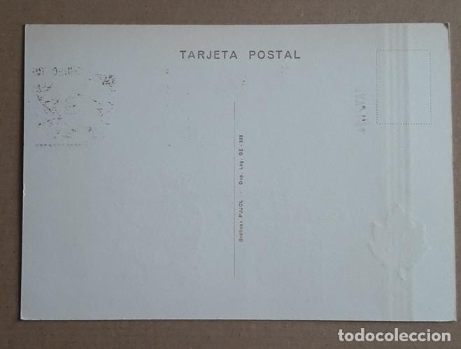 Sellos: TARJETA POSTAL DALI. MATASELLOS DE FIGUERAS. DISEÑO DE SALVADOR DALI. MAYO 1971. GERONA. - Foto 2 - 263083880
