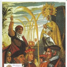 Sellos: 1997. MÁXIMA/MAXIMUM CARD. EDIFIL 3499. BIMILENARIO DE ELCHE. MATASELLOS P.D. ELCHE. ALICANTE. Lote 268740394