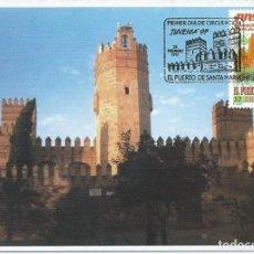 Sellos: 1998. MÁXIMA/MAXIMUM CARD. EDIFIL 3470. CASTILLO DE SAN MARCOS. MAT. P.D. EL PUERTO DE SANTA MARÍA .. Lote 268750074