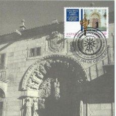 Selos: 1995. MÁXIMA/MAXIMUM CARD. EDIFIL 3389. V CENTº UNIVERSIDAD DE SANTIAGO. MAT. P.D. SANTIAGO DE C.. Lote 275789263