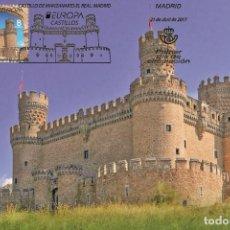 Sellos: SPAIN 2017 - EUROPA CASTLES MAXIMUM CARTE. Lote 276973458