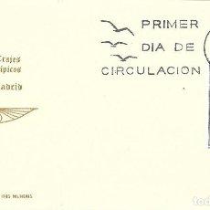 Sellos: TRAJE DE MADRID TRAJES TIPICOS ESPAÑOLES 1969 (EDIFIL 1904) EN TARJETA MAXIMA PRIMER DIA DE IM.. Lote 278594858