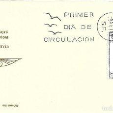 Sellos: TRAJE DE MURCIA TRAJES TIPICOS ESPAÑOLES 1969 (EDIFIL 1906) EN TARJETA MAXIMA PRIMER DIA DE IM.. Lote 278766533