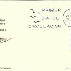 Sellos: TRAJE DE NAVARRA TRAJES TIPICOS ESPAÑOLES 1969 (EDIFIL 1907) EN TARJETA MAXIMA PRIMER DIA DE IM.. Lote 278766928