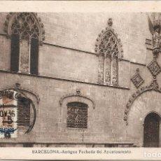 Sellos: BARCELONA PUERTA GOTICA AYUNTAMIENTO SELLOS DE RECARGO OBLIGATORIO 1936 (EDIFIL 13) TM BARCELONA. Lote 278887368