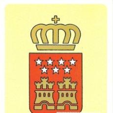Timbres: TARJETA MAXIMA ESPAÑA ESCUDO AUTONOMIA COMUNIDAD DE MADRID EDIFIL 2738-HERALDICA. Lote 286905043
