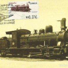 Sellos: TARJETA MÁXIMA ATM 2004 LOCOMOTORA Y TÉNDER 1900-10. Lote 288051093