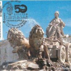Sellos: SPAIN MAXICARD 2018– ESPAÑA TARJETA MÁXIMA CON SELLO ATM FUENTE DIOSA CIBELES DE MADRID. Lote 288331133