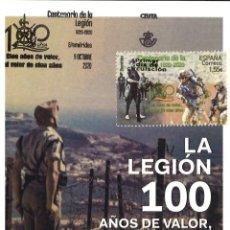 Sellos: TARJETA MÁXIMA CENTENARIO DE LA LEGIÓN (MATASELLOS DE 9 DE OCTUBRE DE 2020). Lote 289433268