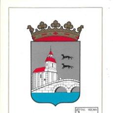 Sellos: ESCUDO DE VIZCAYA 1966 MATASELLOS PROVINCIA (EDIFIL 1699) EN TARJETA MAXIMA PRIMER DIA. MPM. Lote 292537453