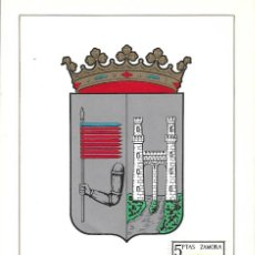 Sellos: ESCUDO DE ZAMORA 1966 MATASELLOS MADRID (EDIFIL 1700) EN TARJETA MAXIMA PRIMER DIA. MPM. Lote 292539143