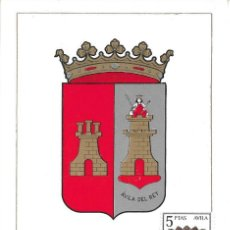 Sellos: ESCUDO DE AVILA 1962 MATASELLOS PROVINCIA (EDIFIL 1410) EN TARJETA MAXIMA PRIMER DIA. MPM.. Lote 293192038