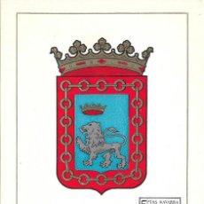 Sellos: ESCUDO DE NAVARRA 1964 MATASELLOS PROVINCIA (EDIFIL 1560) EN TARJETA MAXIMA PRIMER DIA. MPM. Lote 296594658