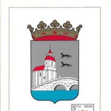 Sellos: ESCUDO DE VIZCAYA 1966 MATASELLOS PROVINCIA (EDIFIL 1699) EN TARJETA MAXIMA PRIMER DIA. MPM. Lote 296813438
