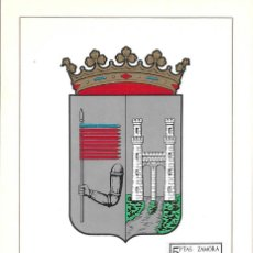 Sellos: ESCUDO DE ZAMORA 1966 MATASELLOS MADRID (EDIFIL 1700) EN TARJETA MAXIMA PRIMER DIA. MPM. Lote 296814813