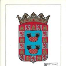 Sellos: ESCUDO DE MELILLA 1966 MATASELLOS PROVINCIA (EDIFIL 1703) EN TARJETA MAXIMA PRIMER DIA. MPM. Lote 296816503