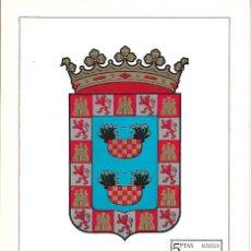 Sellos: ESCUDO DE MELILLA 1966 MATASELLOS MADRID (EDIFIL 1703) EN TARJETA MAXIMA PRIMER DIA. MPM. Lote 296816648