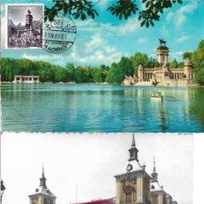 Sellos: CAPITALIDAD DE MADRID IV CENTENARIO 1961 (EDIFIL 1388/93) EN SEIS TARJETAS MAXIMAS PRIMER DIA MOD 1.. Lote 297023243