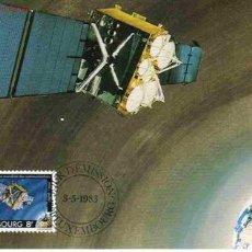 Briefmarken - LUXEMBURGO MÁXIMA SATELITE TELECOMUNICACIONES - 951770
