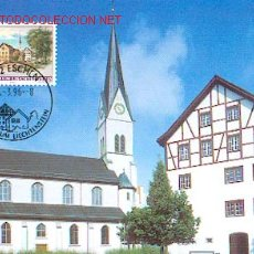 Sellos: LIECHTENSTEIN - ARQUITECTURA - ESCHEN. Lote 100477