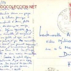 Sellos: SUIZA - MONTAÑA - SAINT MORITZ. 1850 METROS DE ALTURA, MATASELLOS ESPECIAL DE SANT MORITZ DE 31-7-53. Lote 1249585