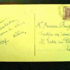 Sellos: TARJETA POSTAL MATASELLO 1937. PARÍS EXPOSICIÓN INTERNACIONAL 20 C.. Lote 23670779