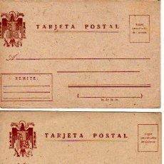 Sellos: PAREJA DE TARJETAS -SIN CIRCULAR-. Lote 18425860