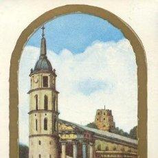 Sellos: VATICANO - ARQUITECTURA - CATEDRAL DE WILNA. MATASELLOS DEL 1-12-1959. Lote 4535377