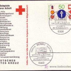Sellos: ALEMANIA TP 847*** - AÑO 1979 - SERVICIO DE SOCORRO EN CARRETERA. Lote 5367930