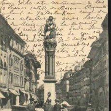 Sellos: BERN - SIMSONBRUNNEN (BERNA - SUIZA) 1903 ESCRITA Y CIRCULADA DE SUIZA A ESPAÑA. Lote 12846579