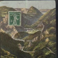 Sellos: VIADUC DE BOUDRY. GORGES DE L'AREUSE 7928 ( SUIZA ) SELLO HELVETIA 1911. Lote 19361033