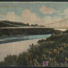 Sellos: SUSPENSION BRIDGE, FORRES. PORTUGAL. 1907 CON SELLO PORTUGUES. Lote 19361034