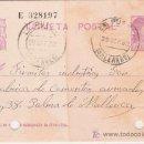 Sellos: TARJETA POSTAL CIRCULADA DE LA PUEBLA A PALMA DE MALLORCA. Lote 26264785