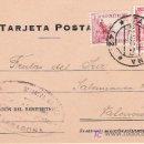 Sellos: TARJETA POSTAL CIRCULADA DE TARRAGONA A VALENCIA.. Lote 26272648