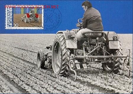 LIECHTENSTEIN - AGRICULTURA (Sellos - Extranjero - Tarjetas Máximas)