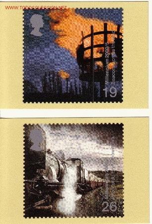 GRAN BRETAÑA PHQ CARD 216 - AÑO 2000 - NUEVO MILENIO (Sellos - Extranjero - Tarjetas)