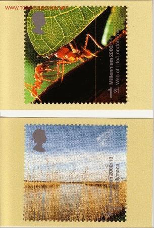 GRAN BRETAÑA PHQ CARD 218 - AÑO 2000 (Sellos - Extranjero - Tarjetas)