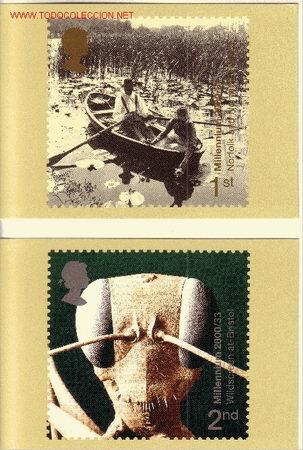 GRAN BRETAÑA PHQ CARD 223 - AÑO 2000 - NUEVO MILENIO (Sellos - Extranjero - Tarjetas)