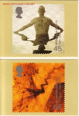 GRAN BRETAÑA PHQ CARD 224 - AÑO 2000 (Sellos - Extranjero - Tarjetas)