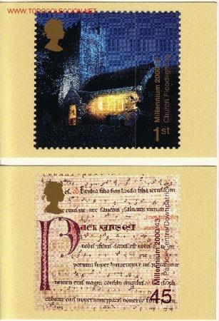 GRAN BRETAÑA PHQ CARD 225 - AÑO 2000 (Sellos - Extranjero - Tarjetas)