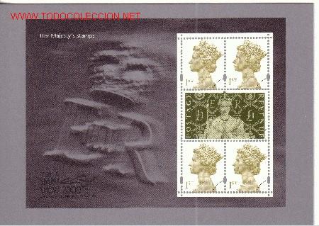 GRAN BRETAÑA PSM CARD 03 A - AÑO 2000 (Sellos - Extranjero - Tarjetas)