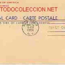 Sellos: TARJETA POSTAL DE UNITED STATES OF AMERICA. Lote 1439360