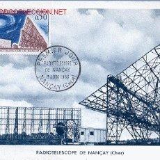 Sellos: FRANCIA, RADIOTELESCOPIO DE NANÇAY. Lote 1661861
