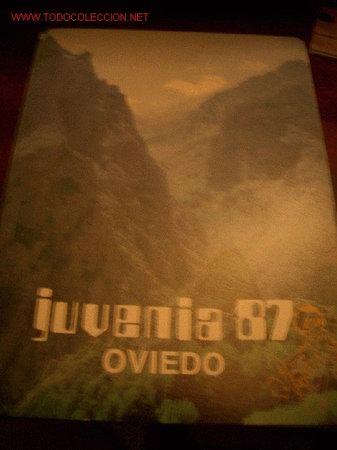 TARJETA: JUVENIA 87 OVIEDO, X EXPOSICION FILATELICA NACIONAL JUVENIL (Sellos - España - Tarjetas)