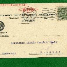 Sellos: TARJETA POSTAL SPEDIZIONI ESPORTAZIONI MEDITERRANEE -CONFEDERAZIONI NAZIONALE FASCISTA DEI COMMERCIA. Lote 2440935
