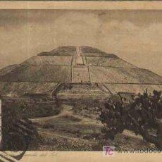 Sellos: PUEBLA - SAN JUAN TEOTIHUACAN PIRAMIDE DEL SOL. MEXICO. 1924. SELLO 2 CENTAVOS. Lote 11221877