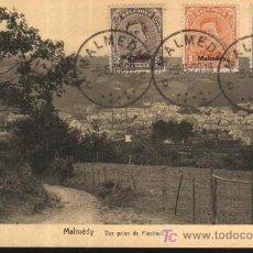 Sellos: ANTIGUA POSTAL : MALMÉDY - VUE PRISE DE FLORIHELD - BELGICA. 1916. Lote 25378405