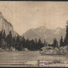 Sellos: ANTIGUA POSTAL : JUNCTION OF BOW AND SPARY RIVERS, BANFF - CANADA. 1905. CIRCULADA CON SELIO 2 CENTS. Lote 25378408